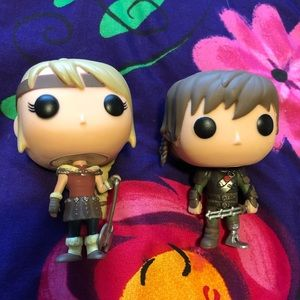 How to Train Your Dragon POP Figures